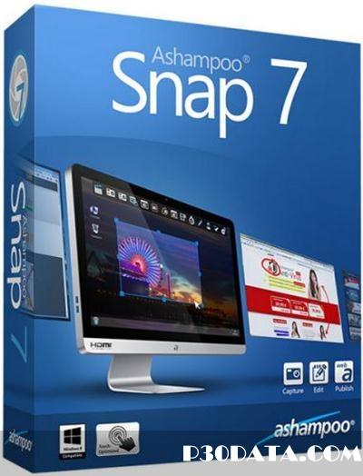 Ashampoo Snap 7.0.4 DC 24.02.2014 – فیلمبرداری حرفه ای از دسکتاپ
