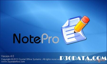دانلود NotePro v4.0 - نرم افزار ویرایش و ایجاد فایل های متنی
