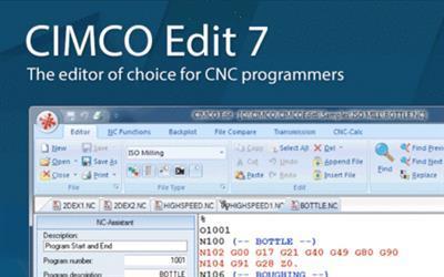 CimcoEdit 7.70026 (x86) Multilingual - نرم افزارهای طراحی دو بعدی و سه بعدی (CNC)