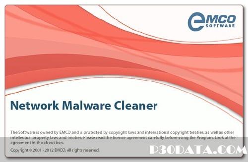 دانلود نرم افزار امنیتی EMCO Network Malware Cleaner 4.9.10.100 Datecode 02.09.2013