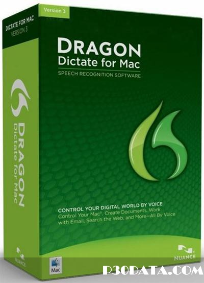 Dragon Dictate v3.0.3 Mac OS X